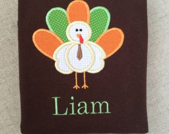 Boys turkey shirt, Thanksgiving shirt