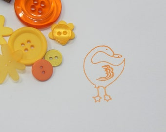 Little Duck Olive Wood Stamp