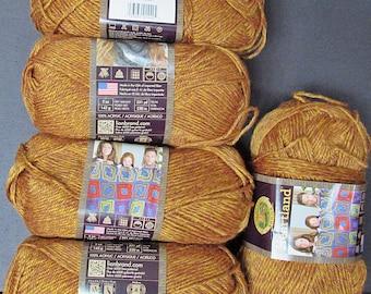 5 sks Lion Brand Heartland Acrylic Tweed Yarn,Free Ship,Knit Crochet