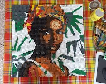 Afro-Caribbean woman portrait