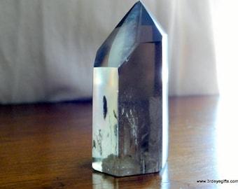 Smoky Quartz Tower, Smoky Quartz Point, Smoky Quartz, Crystal Towers, Quartz Point, Crystal Points, Polished Quartz, Healing Crystal ~1191