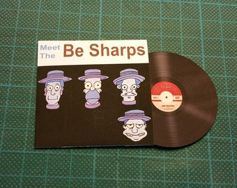 Meet The Be Sharps replica one sixth scale 1:6 scale vnyl disc the simpsons baby on board I RE ACUTI