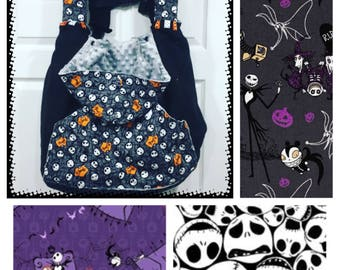 NIGHTMARE BEFORE CHRISTMAS -Warm - Fleece - Baby Carrier - Cover - Car Seat - Winter - Tula, Lillebaby, Kinderpack, Ergo, Mj, Boba,