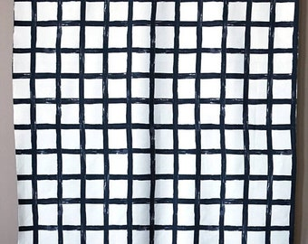 10% OFF - Checked - IKEA Dvargbjork Cotton Fabric