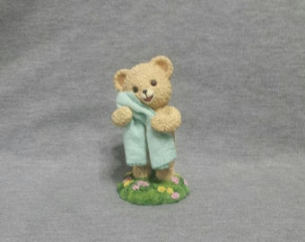 I Want To Be Your Snuggle Bear Figurine by The Hamilton Collection Snuggle's & Co. 1998
