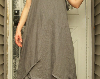 Long Flower Slip Dress