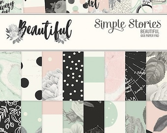 Simple Stories - Beautiful Collection - 6 x 8 Paper Pad