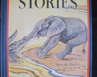 Just So Stories // 1912 Hardback // Rudyard Kipling // 12 stories about animals for young readers