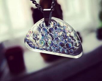 Rainbow Bubbles Necklace