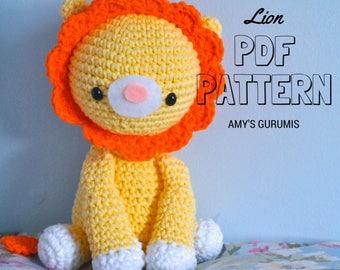 Amigurumi Pattern Lion