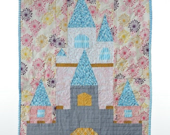 Fairy Tale Castle quilt pattern