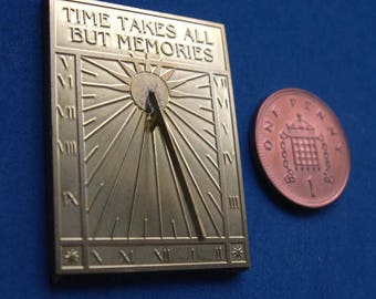 1/12th Scale Wall Sundial