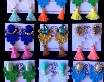 Handmade Earrings-Earring Handmade