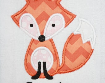 Fox Burp Cloth- Personalize Fox Baby Burp Cloth- Monogram Burp Cloths- Baby Boy Burp Cloth- Baby Shower Gifts- Burp Rags- Burp Cloths