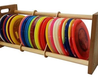 Disc Golf Rack Storage Holder Stackable