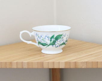 Vintage AVON Blossom of the Month Teacup | May | Lily of the Valley