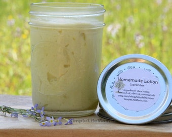 ANTI AGING LOTION - anti wrinkle cream 100% natural, organic, essential oils, Whipped Shea Body Butter, face cream, face lotion