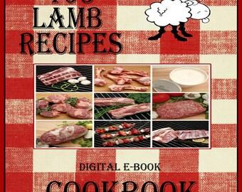 163 Lamb Recipes E-Book Cookbook Digital Download