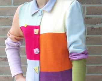 Charlie Jacket Machine Knitting Pattern