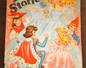 Fairy Stories Merrill Publishing #3475 1943 Chicago, IL