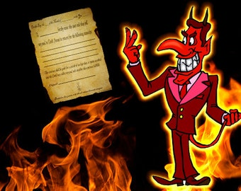 Sell Your Soul! Pact With The Devil - Soul Contract