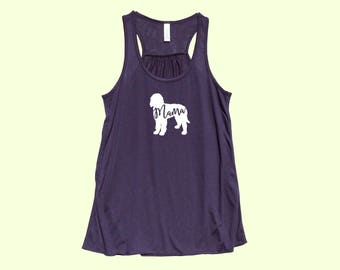 """Labradoodle """"MAMA"""" - Fit or Flowy Dog Tank"""