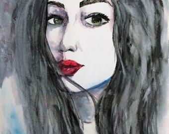 Brunette Portrait