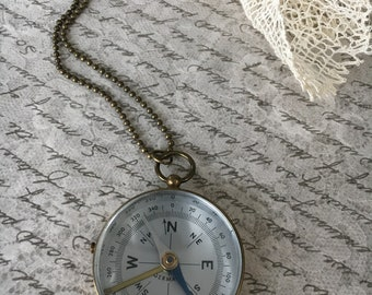 Lost & Found Compass Necklace