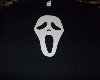 Scream--Ghost Face Shirt! Sz S-XL! Made to Order! NEW!! Bigger sizes available by request!!