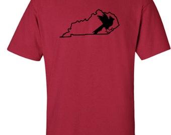 University of Louisville Cardinals Kentucky State Bird Adult Unisex Tshirt