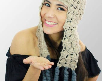 Peruvian Hat, earflap hat, 100% Baby Alpaca handmade
