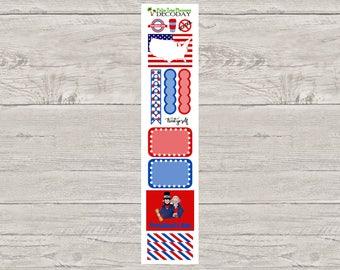 DECODAYS President's Day Planner Stickers