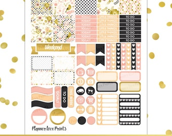 Lovely Birds PRINTABLE Planner Stickers | Instant Download | Pdf and Jpg Format