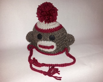 Sock Monkey Hat (115)