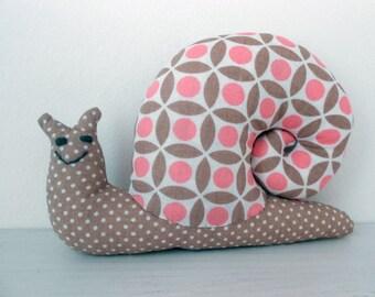 Snail in home decor fabrics