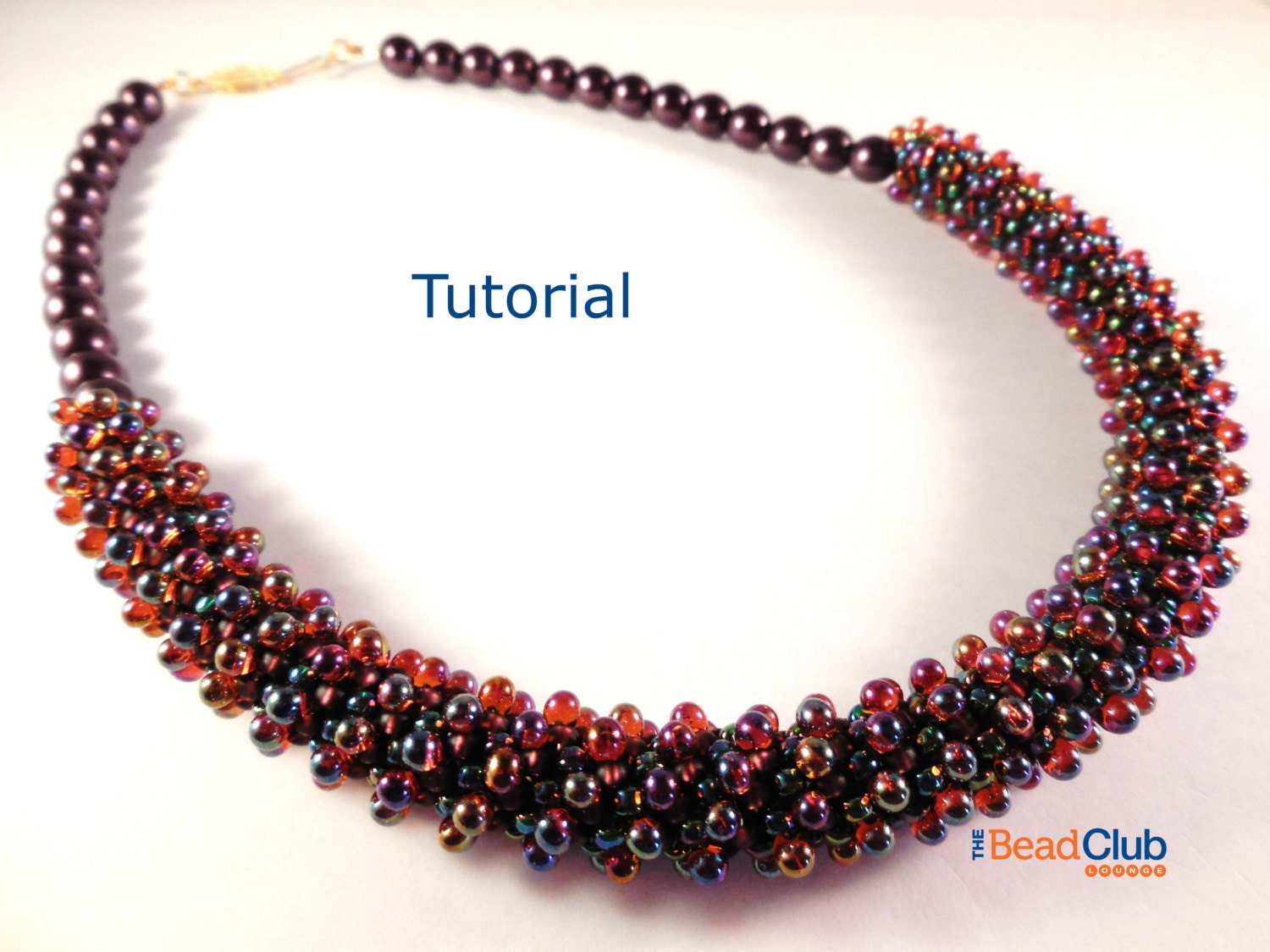 necklace and ideas patterns sandra tutorial the free halpenny bead pattern butterfly d by original
