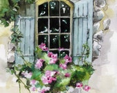Window Painting - Print f...