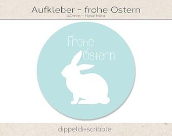 Sticker Happy Easter Bunny