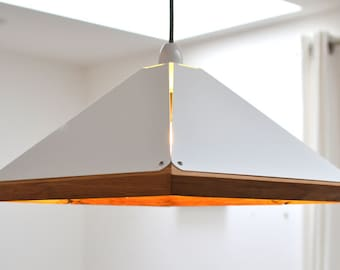 Reclaimed Oak Pendant Lamp