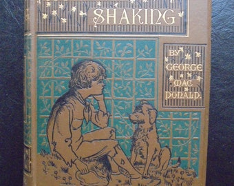 """George MacDonald  """"A Rough Shaking"""" Antique Hardcover Book with 12 pages of illustration by W Parkinson"""