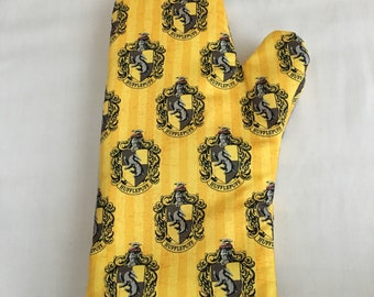 Hufflepuff Harry Potter Fully Functional Oven Mitts