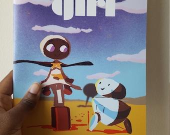 SPACE GIRL comic by Awuradwoa Afful