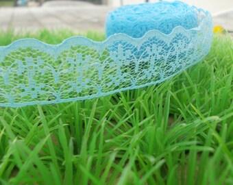 Blue lace 1 yard