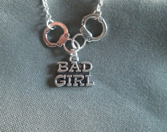 Bad Girl Handcuff BDSM Necklace