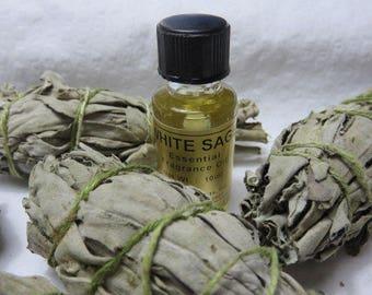 White Sage Essential Aroma Oil Spiritual Sacred Smudging Ceremonies Oil For Oil Burner Aromatherapy  Oil Diffuser