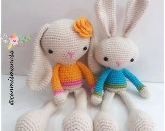 Sweet Bunnies, Amigurumi Pattern