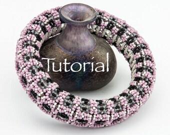 Beadwoven Bracelet Tutorial Bodacious Bangle Digital Download