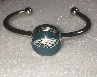 Philadelphia Eagles Adjustable Bangle Bracelet Super Bowl 52