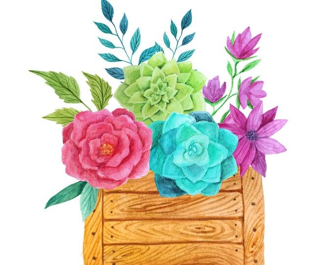 Floral Wall Art, Flower Digital Wall Art, Digital Download, 5x7 floral print, 8x10 floral print, 11x14 floral print, 300Dpi High Resolution