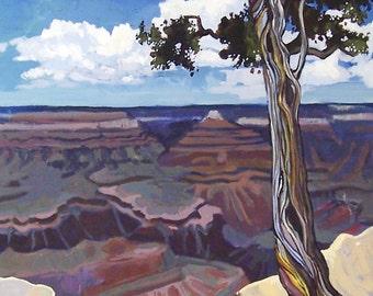 Original Grand Canyon No. 2 Landscape Painting